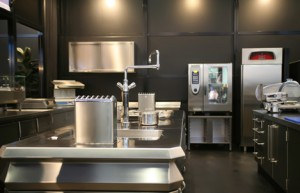 new industrial kitchen
